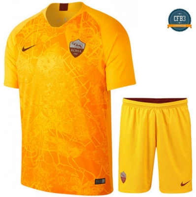 Camiseta AS Roma 3ª Equipación Junior Amarillo 2018