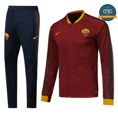 Chaqueta Chándal AS Roma Rojo 2018 Strike Drill