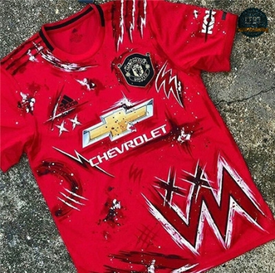 Cfb3 Camiseta Manchester United Special Edition Rojo 2020/21