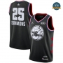 cfb3 camisetas Ben Simmons - 2019 All-Star Negro