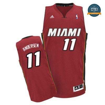 cfb3 camisetas Chris Andersen, Miami Heat [Alternate]