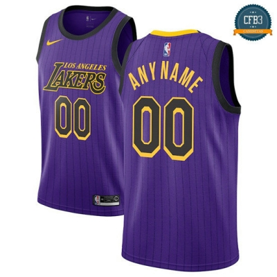cfb3 camisetas Custom, Los Angeles Lakers 2018/19 - City Edition