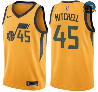 cfb3 camisetas Donovan Mitchell, Utah Jazz - Statement