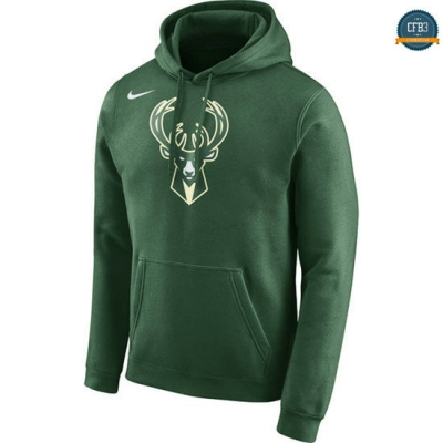 cfb3 camisetas Sudadera Milwaukee Bucks