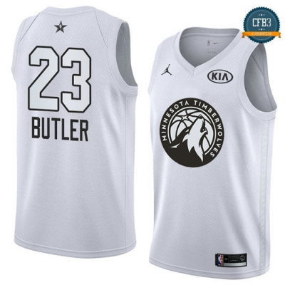 cfb3 camisetas Jimmy Butler - 2018 All-Star Blanco