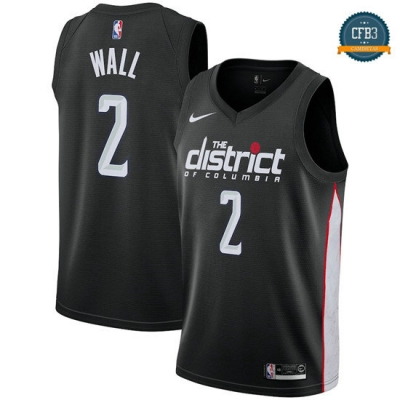 cfb3 camisetas John Wall, Washington Wizards 18/19 - City Edition
