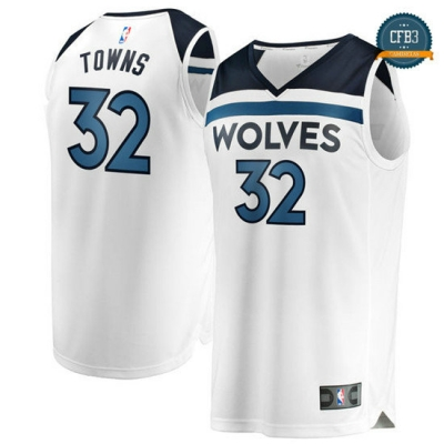 cfb3 camisetas Karl-Anthony Towns, Minnesota Timberwolves - Association