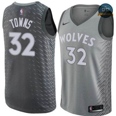cfb3 camisetas Karl-Anthony Towns, Minnesota Timberwolves - City Edition