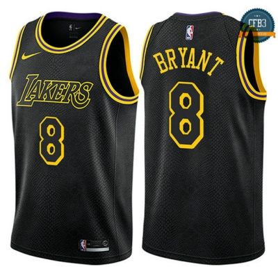 cfb3 camisetas Kobe Bryant, Los Angeles Lakers - City Edition