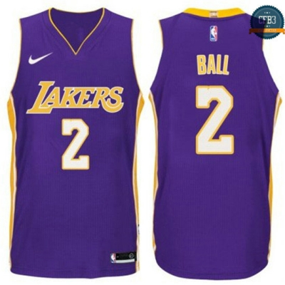 cfb3 camisetas Lonzo Ball, Los Angeles Lakers - Statement
