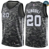 cfb3 camisetas Manu Ginobili, San Antonio Spurs - City Edition