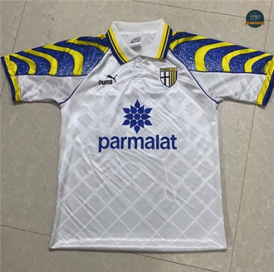 Cfb3 Camiseta Retro 1995-97 Parma Calcio Blanco