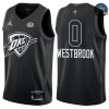 cfb3 camisetas Russell Westbrook - 2018 All-Star Negro