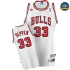 cfb3 camisetas Scottie Pippen, Chicago Bulls [Blanca]