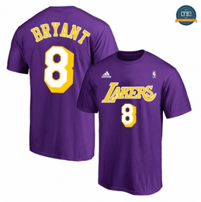 Camiseta Los Angeles Lakers - Purple