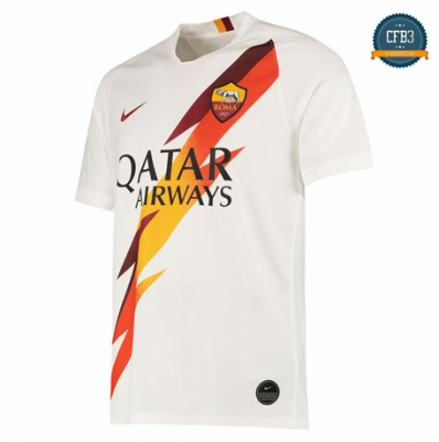 Camiseta AS Roma 2ª Equipación Blanco 2019/2020
