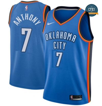 cfb3 camisetas Carmelo Anthony, Oklahoma City Thunder - Icon