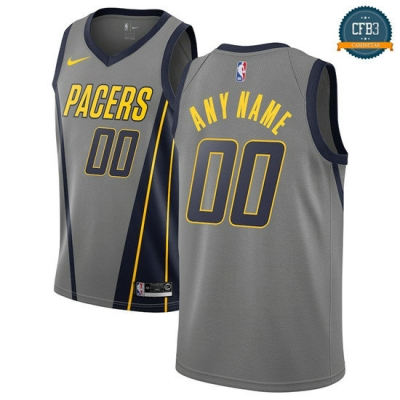 cfb3 camisetas Custom, Indiana Pacers 2018/19 - City Edition