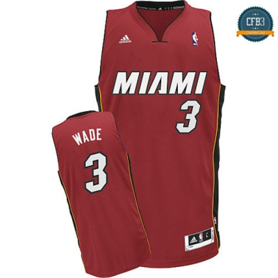 cfb3 camisetas Dwyane Wade Miami Heat [Alternate]
