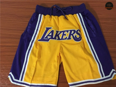 cfb3 camisetas Pantalones Los Angeles Lakers 1995-97