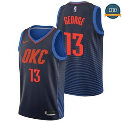 cfb3 camisetas Paul George, Oklahoma City Thunder - Statement