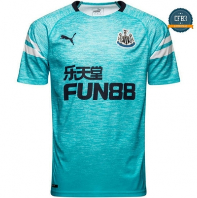Camiseta Newcastle United 3ª Equipación Azul 2018