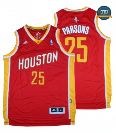 cfb3 camisetas Chandler Parsons, Houston Rockets - Alternate