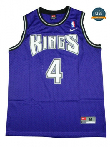 cfb3 camisetas Chris Webber, Sacramento Kings [Morada]