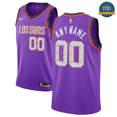 cfb3 camisetas Custom, Phoenix Suns 2018/19 - City Edition