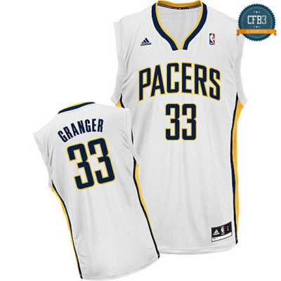 cfb3 camisetas Danny Granger, Indiana Pacers [Blanco]