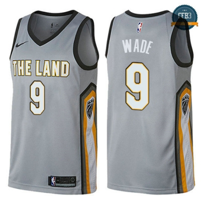 cfb3 camisetas Dwyane Wade, Cleveland Cavaliers - City Edition