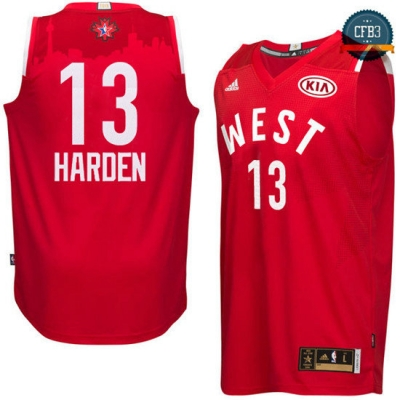 cfb3 camisetas James Harden, All-Star 2016