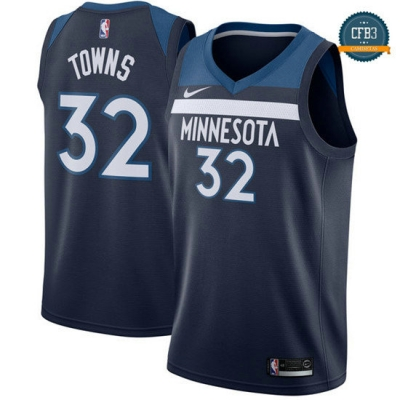 cfb3 camisetas Karl-Anthony Towns, Minnesota Timberwolves - Icon