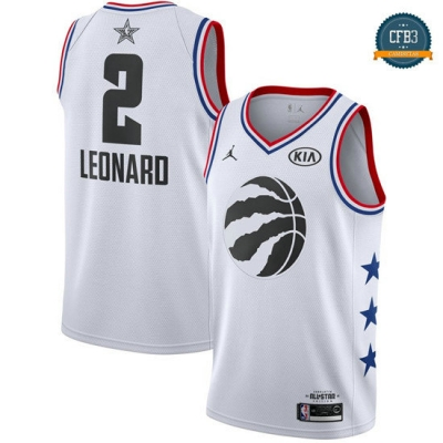 cfb3 camisetas Kawhi Leonard - 2019 All-Star Blanco