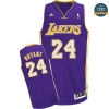 cfb3 camisetas Kobe Bryant, Los Angeles Lakers [Morada]