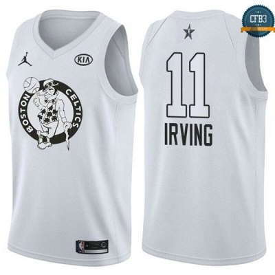 cfb3 camisetas Kyrie Irving - 2018 All-Star Blanco