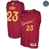 cfb3 camisetas LeBron James, Cleveland Cavaliers - Christmas '17