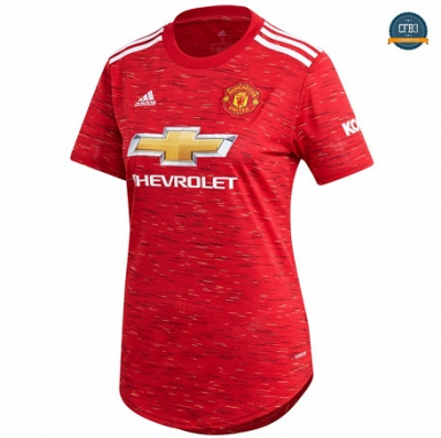 Cfb3 Camiseta Manchester United Mujer 1ª Equipación 2020/2021