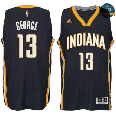 cfb3 camisetas Paul George, Indiana Pacers [Navy]