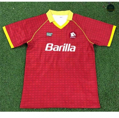 Cfb3 Camiseta Retro 1990-91 AS Roma 1ª Equipación