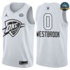 cfb3 camisetas Russell Westbrook - 2018 All-Star Blanco