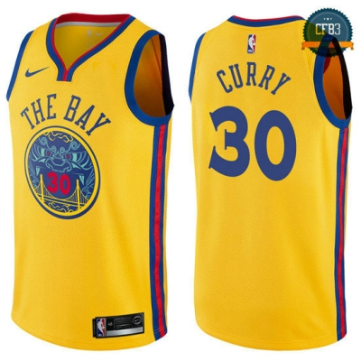 cfb3 camisetas Stephen Curry, Golden State Warriors - City Edition