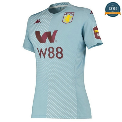 Camiseta Aston Villa Womens 2ª 2019/2020