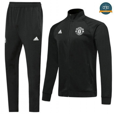 Chaqueta Chándal Manchester United Negro 2019/2020