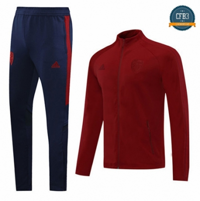 Cfb3 Chaqueta Chandal Arsenal Rojo 2020/21