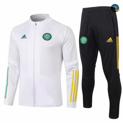 Cfb3 Chaqueta Chandal Celtic Blanco 2020/2021
