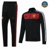 Cfb3 Chaqueta Chandal Manchester United Negro/Rojo 2020/21