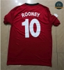 Camiseta 2009 UCL version Manchester United 1ª Equipación (10 Rooney)