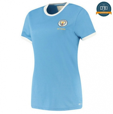 Camiseta Manchester City Mujer 125 ans Anniversaire