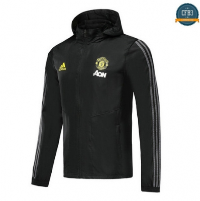 Cfb3 D142 Rompevientos Sombrero Manchester United Negro 2019/2020